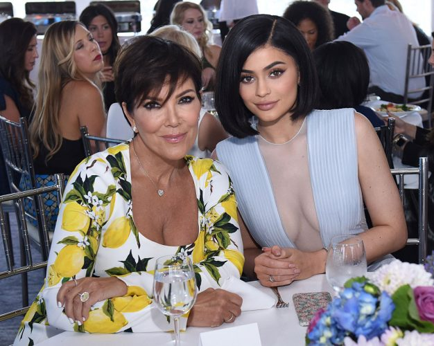 Kris Jenner and Kylie Jenner attend SinfulColors Auction, 2016