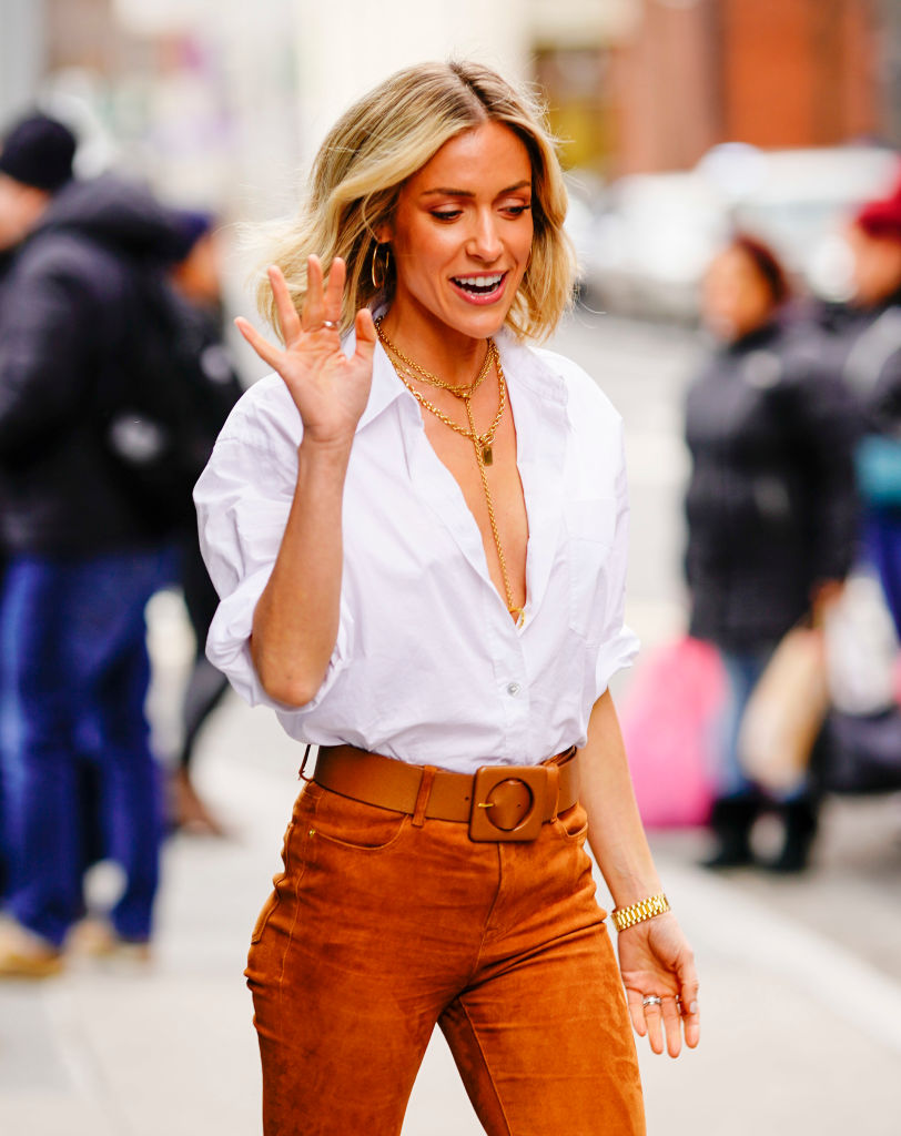 Kristin Cavallari at AOL in New York City