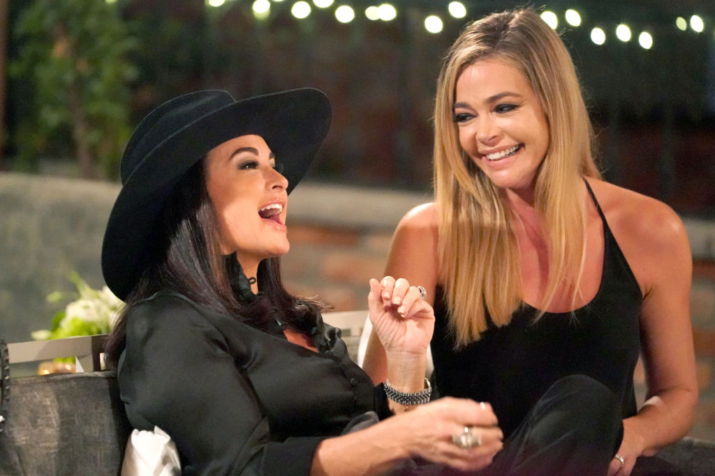 Kyle Richards, Denise Richards on 'Real Housewives of Beverly Hills'