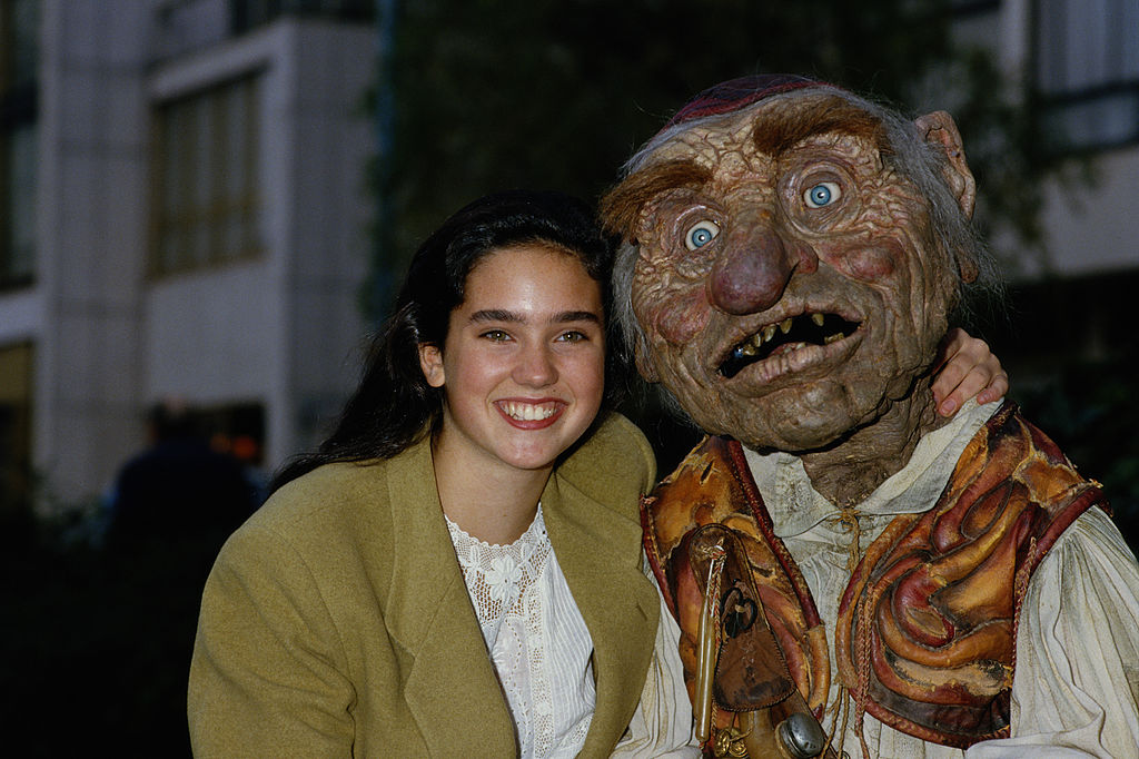 Labyrinth: Jennifer Connelly and Hoggle