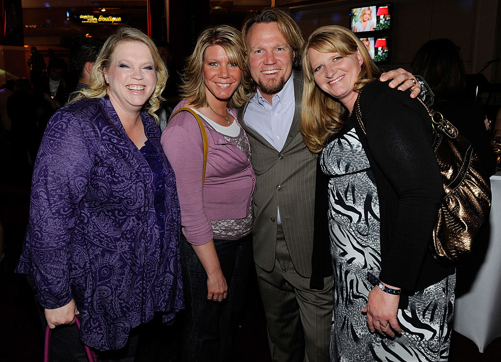 Janelle, Meri, Kody, and Christine Brown
