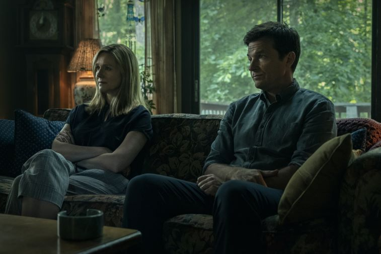 Laura Linney and Jason Bateman in 'Ozark'