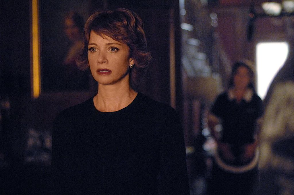 Lauren Holly on the set of NCIS | Ron P. Jaffe/CBS Photo Archive via Getty Images