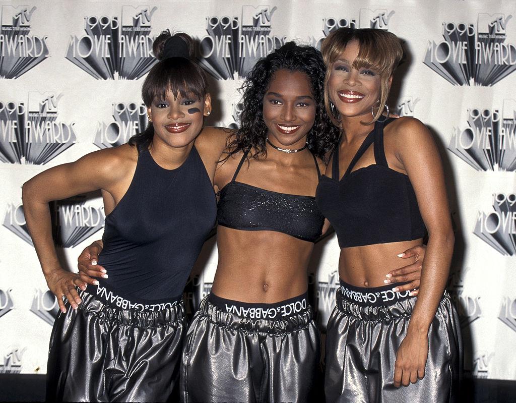 Lisa Left Eye Lopes, Chili, and T-Boz of TLC