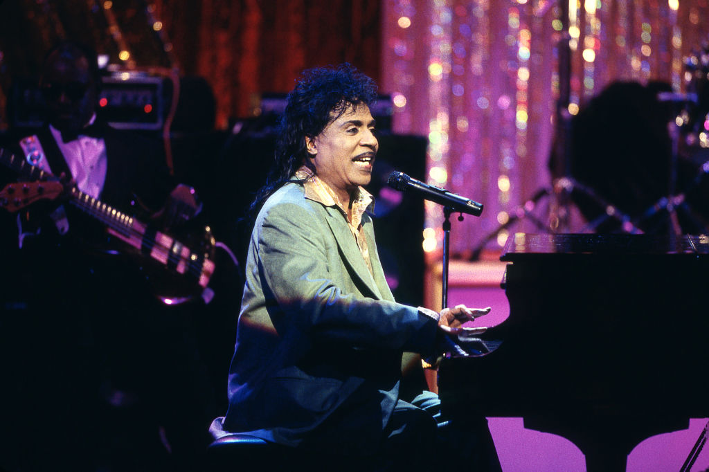 Little Richard performs at the Gala for the President at Ford's Theatre