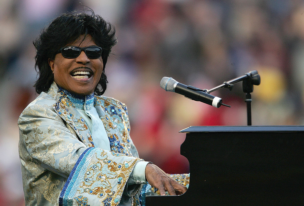 Little Richard at a sporting event in December 2004