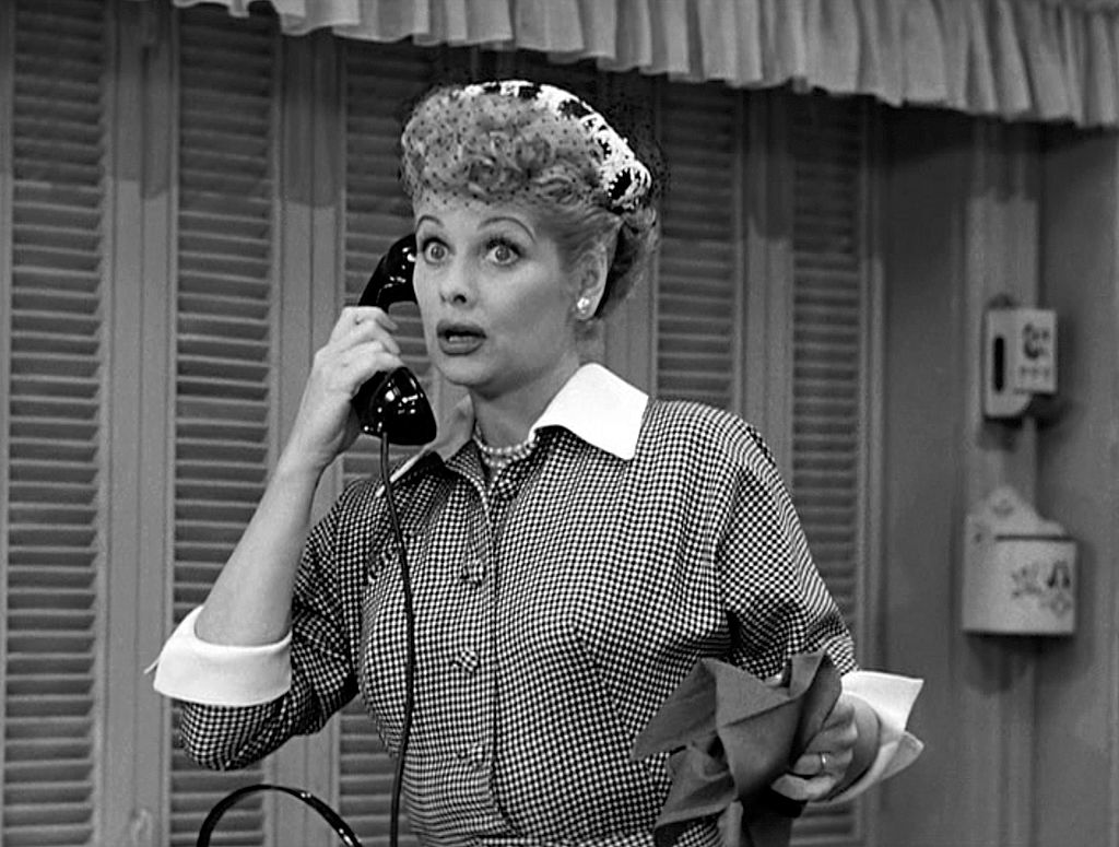 Lucille Ball in 'I Love Lucy'