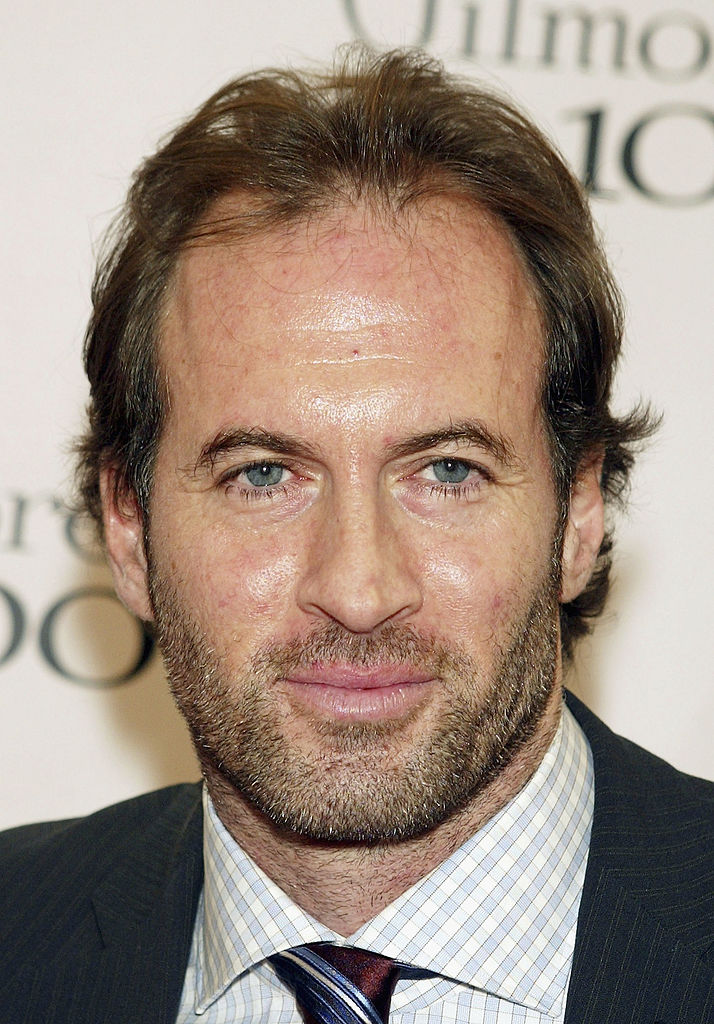 "Scott Patterson arrives at The WB Networks' ""Gilmore Girls"" 100th episode party at The Space"