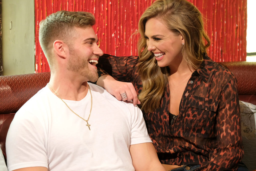 "Luke Parker and Hannah Brown on ABC's ""The Bachelorette"" - Season 15"