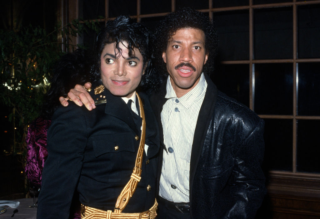 Michael Jackson and Lionel Richie
