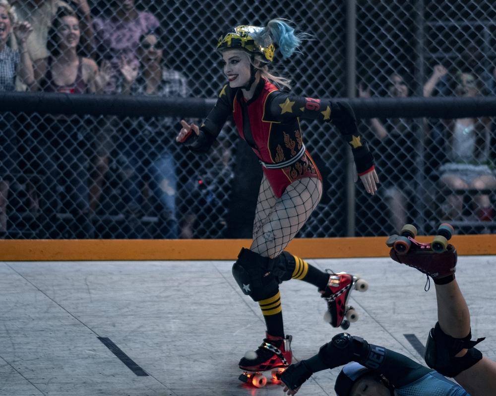 Margot Robbie Roller Skating