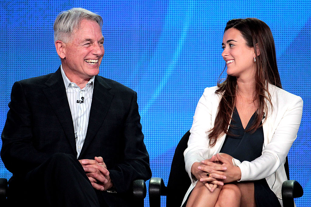 Mark Harmon and Cote de Pablo NCIS