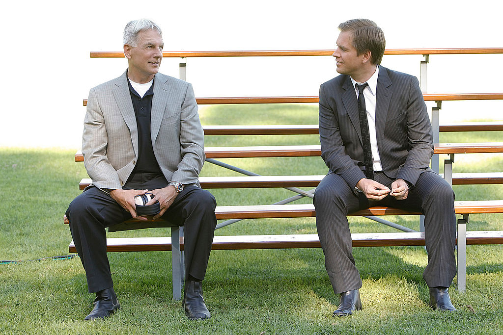 Mark Harmon and Michael Weatherly in NCIS