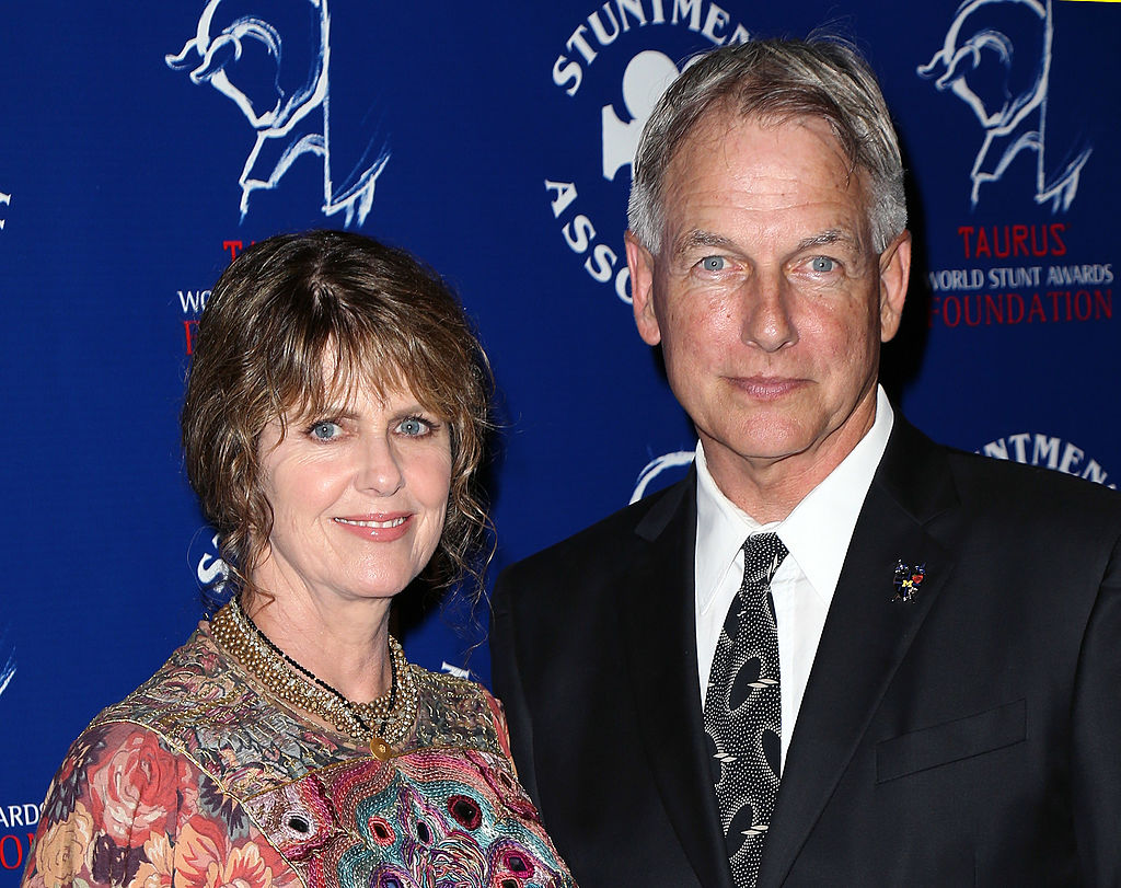 Pam Dawber (L) and husband actor Mark Harmon attend the Stuntmen's Association of Motion Pictures 52nd Annual Awards Dinner to benefit the Taurus World Stunt Awards Foundation at the Hilton Universal City on September 14, 2013