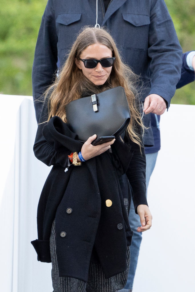 Mary Kate Olsen during Madrid-Longines Champions