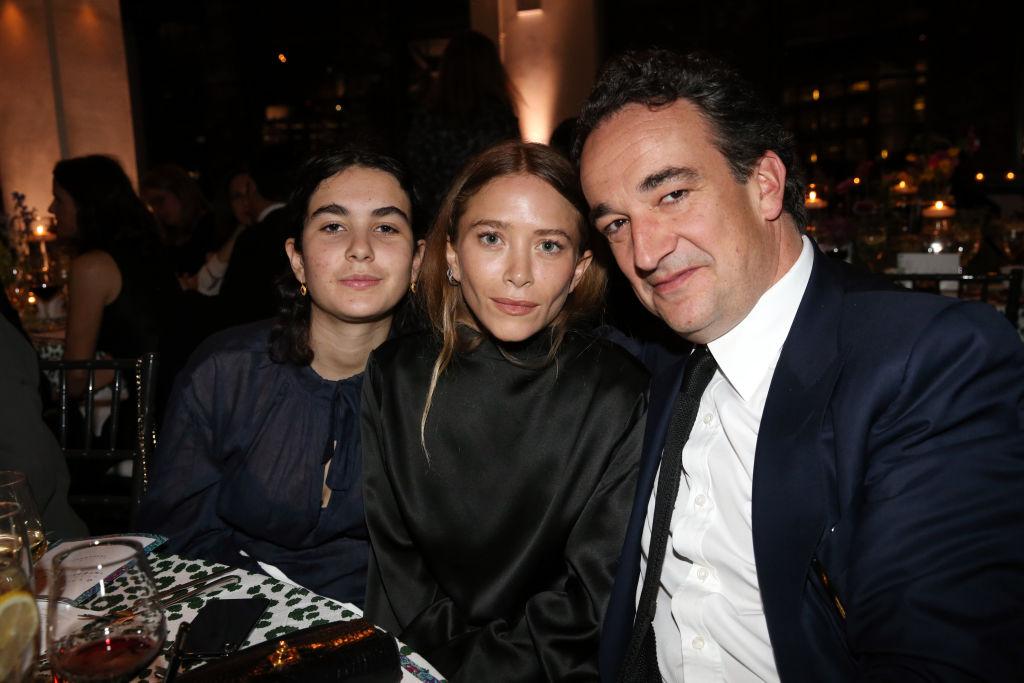 (L-R) Mary-Kate Olsen and Olivier Sárközy attend the 2018 Glasswing International Gala