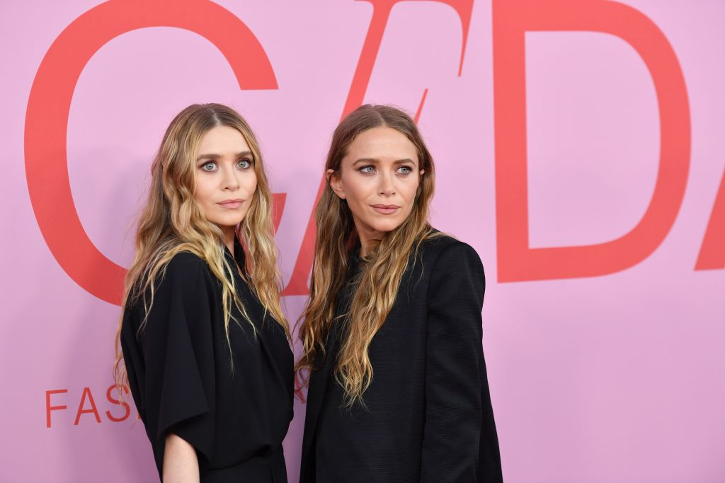 Mary-Kate and Ashley Olsen arrive at the 2019 CFDA fashion awards