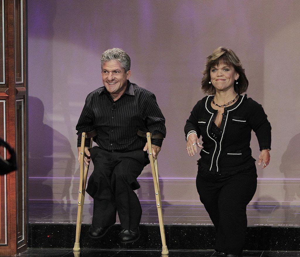 Matt and Amy Roloff arrive on 'The Tonight Show'
