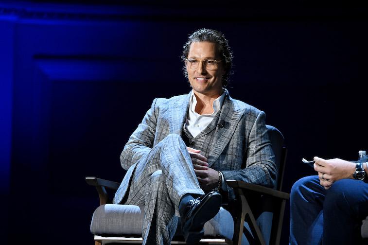 Matthew McConaughey speaks onstage