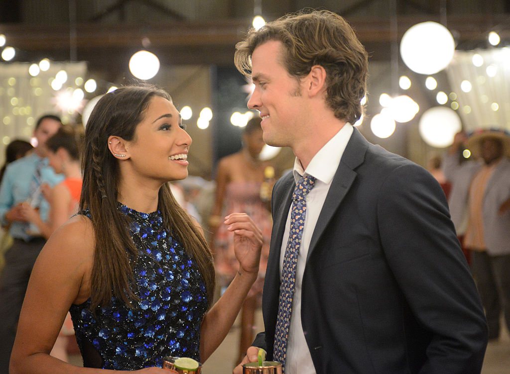 Meaghan Rath and Jack Cutmore-Scott