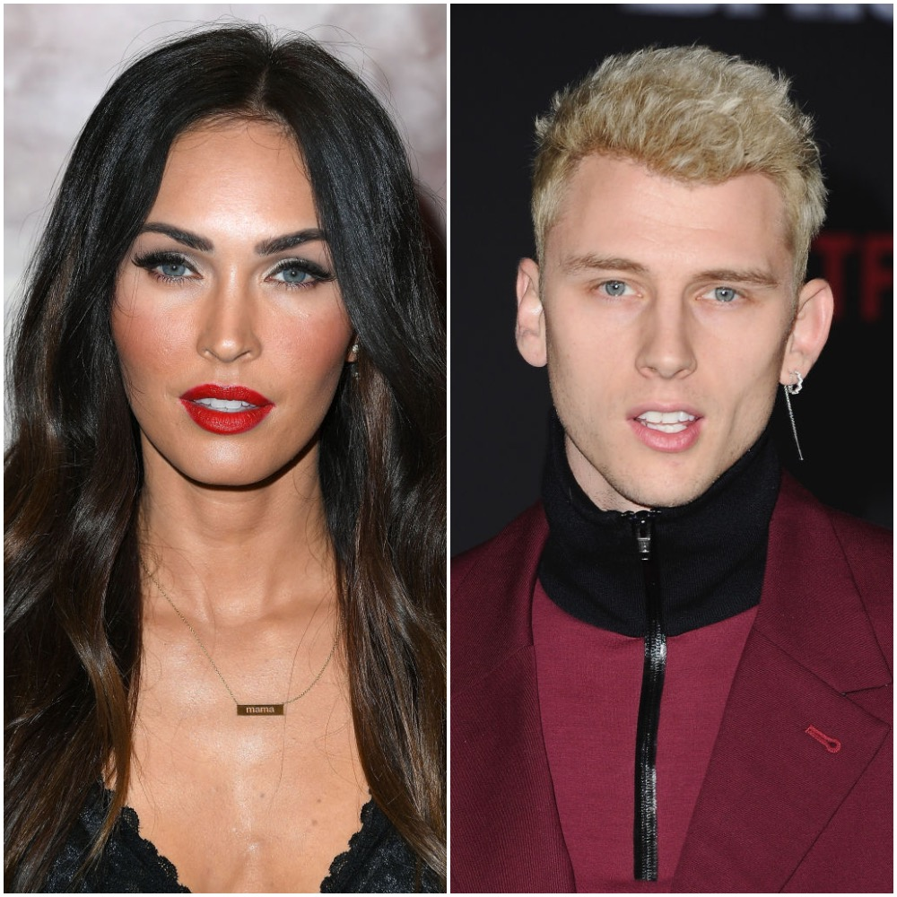 Megan Fox and Machine Gun Kelly