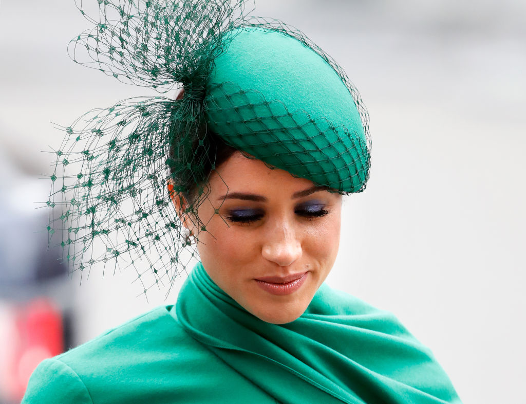 Meghan, Duchess of Sussex attends the Commonwealth Day Service 2020 at Westminster Abbey on March 9, 2020