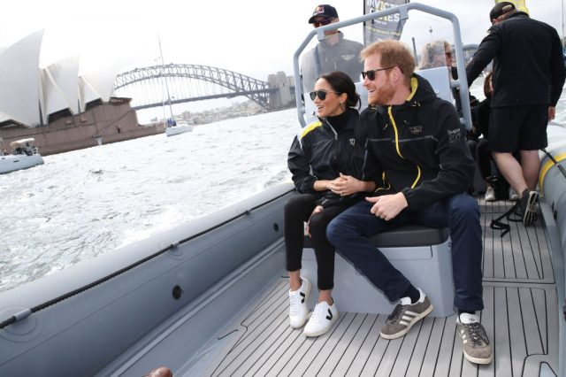 Meghan Markle and Prince Harry in Australia, 2018