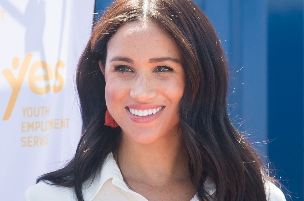 Meghan Markle visits the Tembisa Township to learn about Youth Employment Services