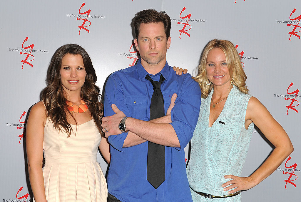 Melissa Claire Egan, Michael Muhney and Sharon Case