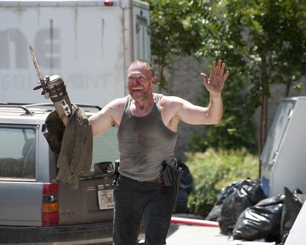 Michael Rooker in The Walking Dead