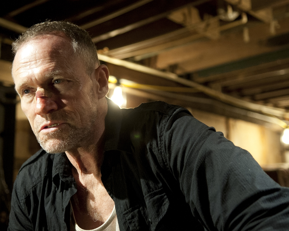 Michael Rooker on The Walking Dead