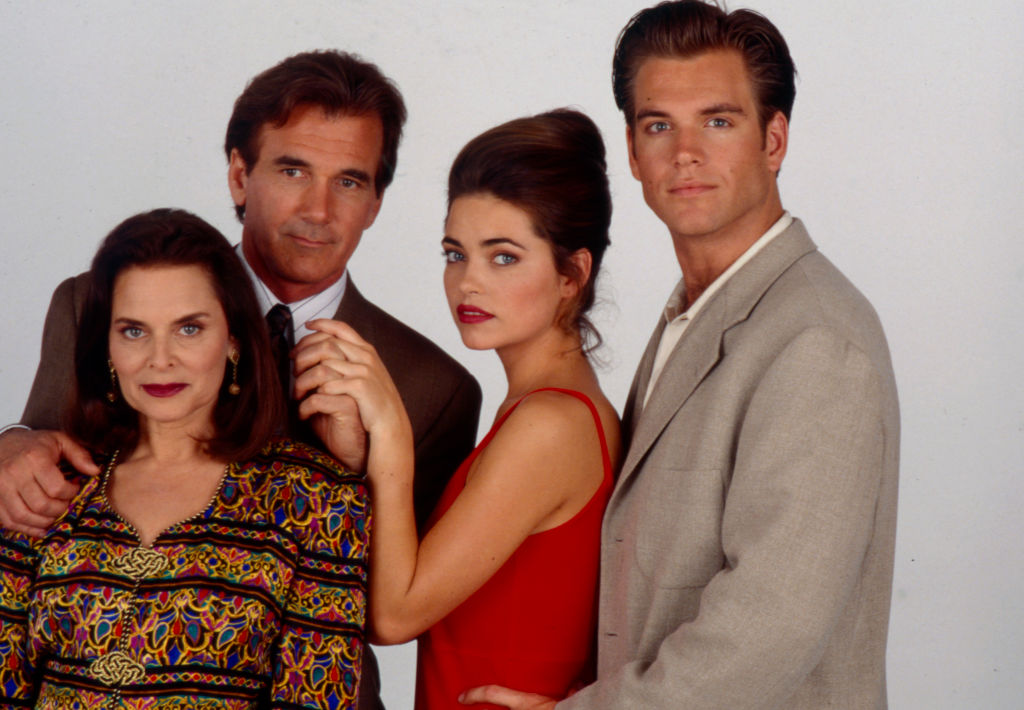 Michael Weatherly with the 'Loving' cast in 1994   Walt Disney Television via Getty Images