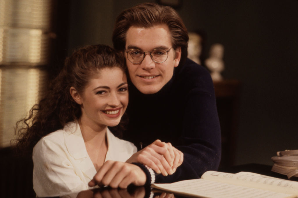 Michael Weatherly and Rebecca Gayheart | Ann Limongello /Walt Disney Television via Getty Images
