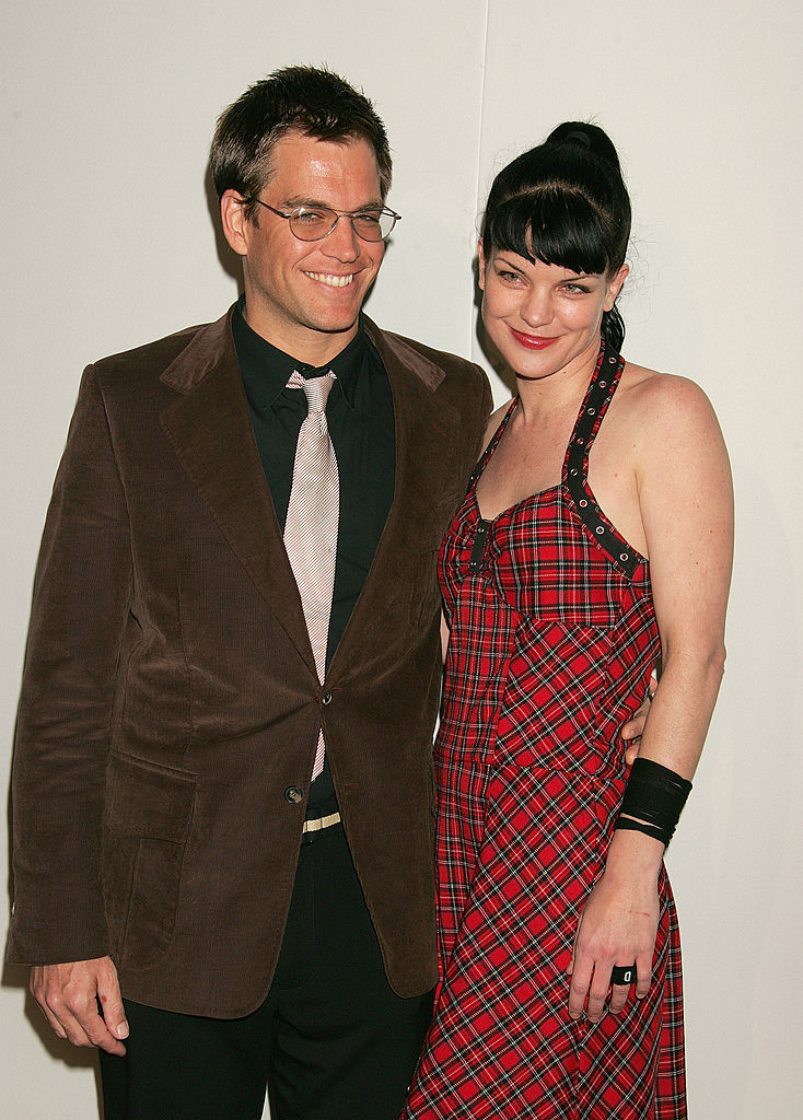 NCIS Michael Weatherly and Pauley Perrette NCIS