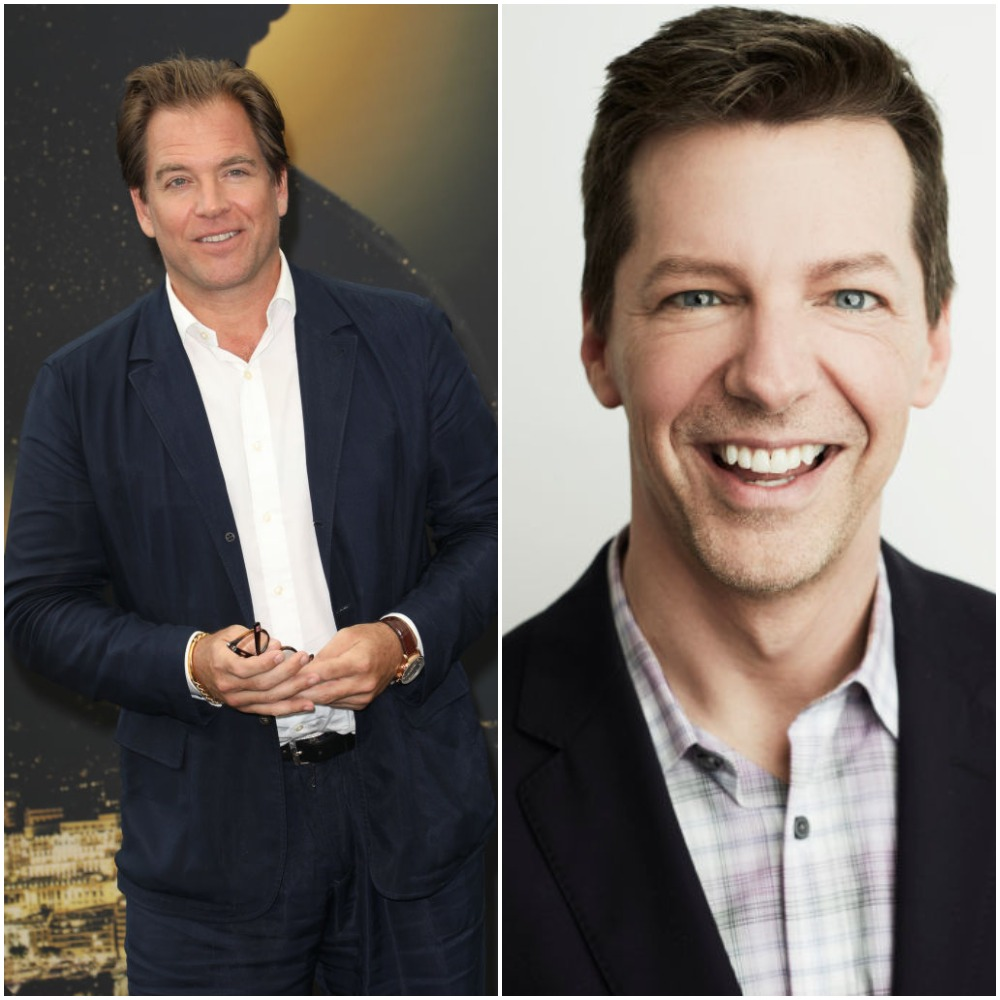 Michael Weatherly of NCIS and Sean Hayes of Will & Grace
