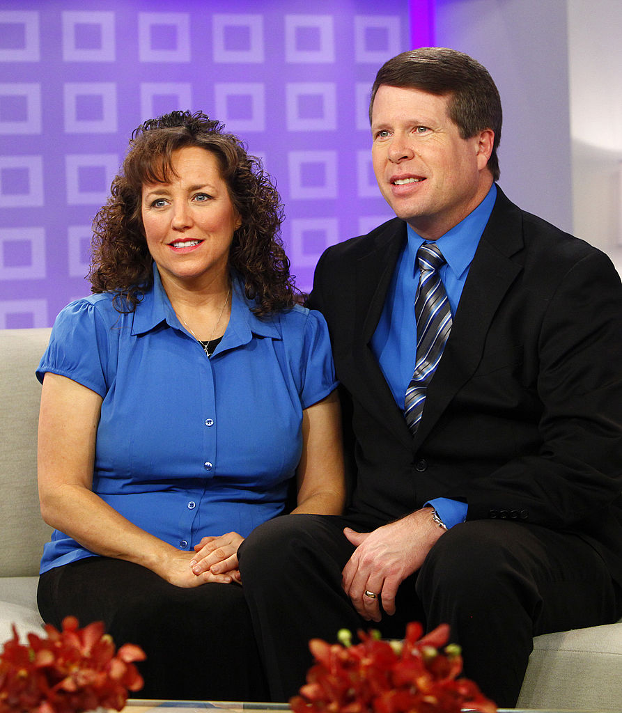 Michelle and Jim Bob Duggar on 'Today'