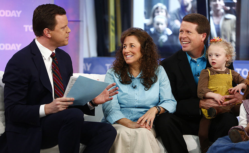 Michelle Duggar and Jim Bob Duggar appear on NBC News' 'Today' show