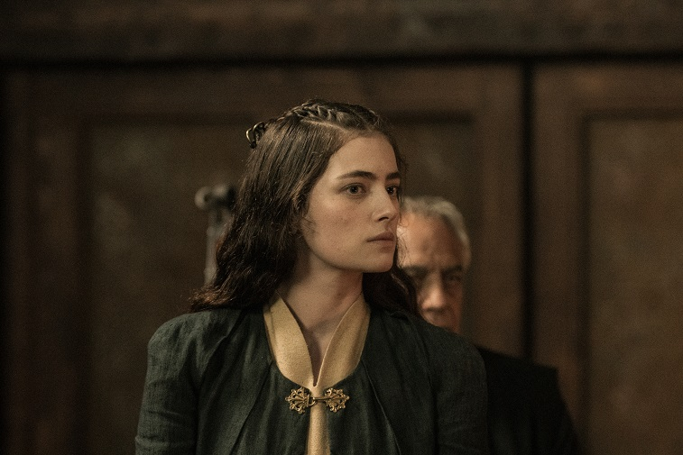 Millie Brady in 'The Last Kingdom'