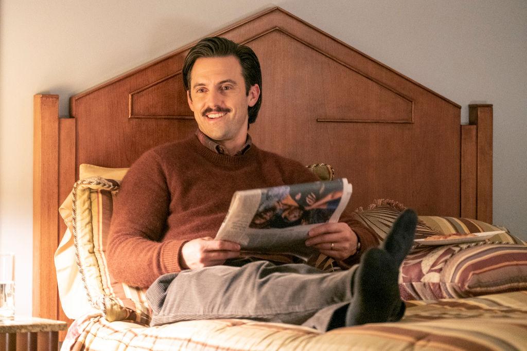 Milo Ventimiglia as Jack on This Is Us - Season 4