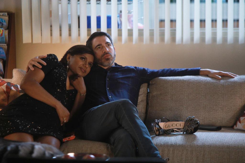 Mindy Kaling as Mindy Lahiri and Chris Messina as Danny Castellano on The Mindy Project - Season 6