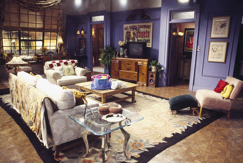 Monica Geller's apartment on the set of 'Friends'