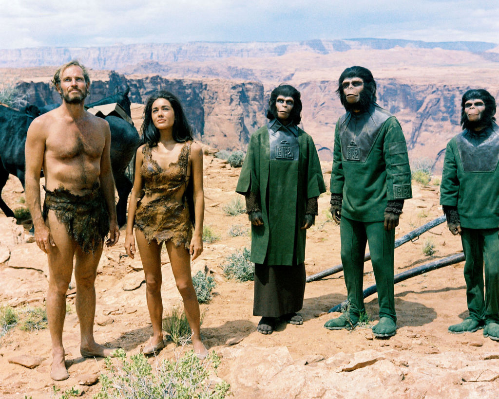Movie still: Planet of the Apes