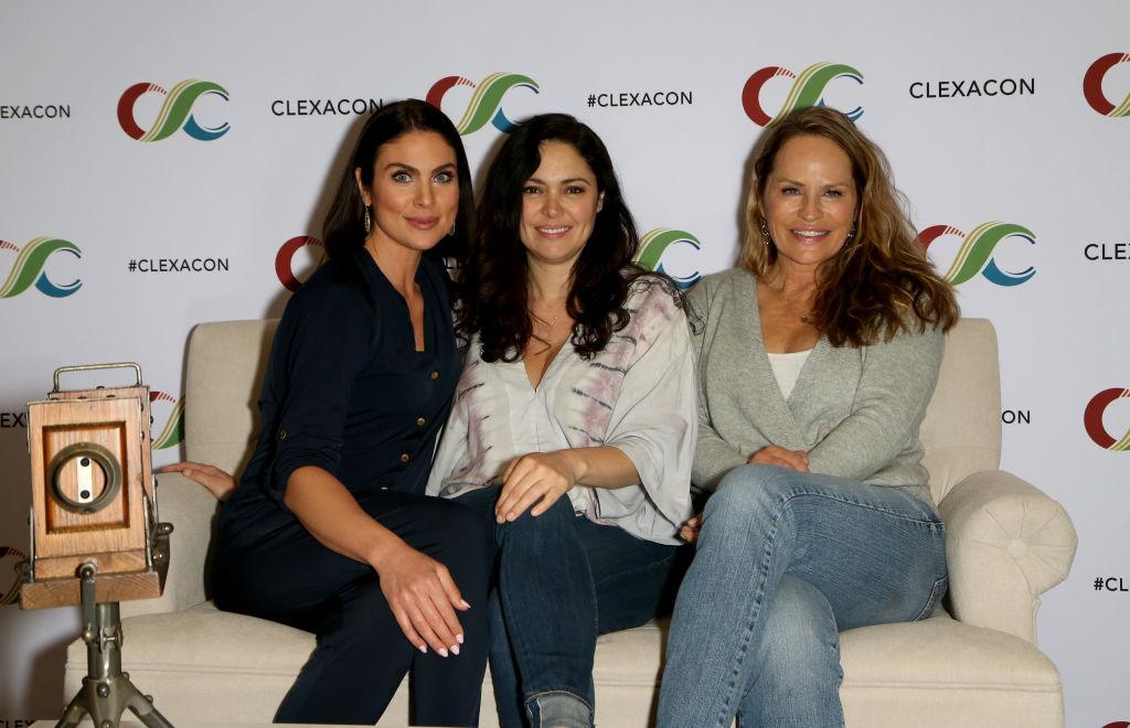 Nadia Bjorlin, Jessica Leccia and Crystal Chappell