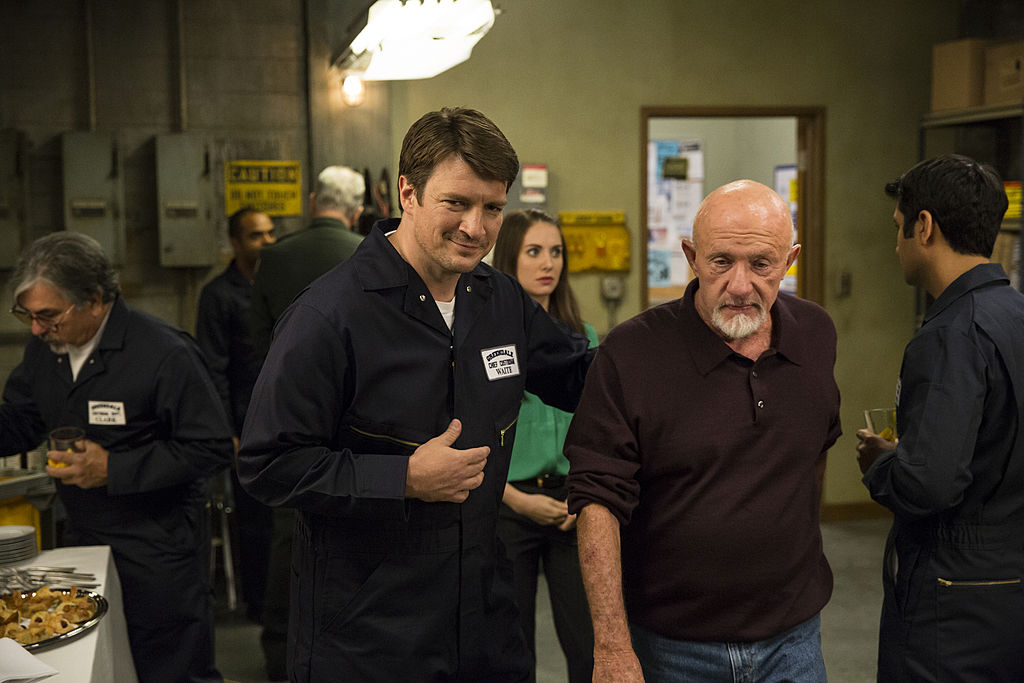 Nathan Fillion in Community
