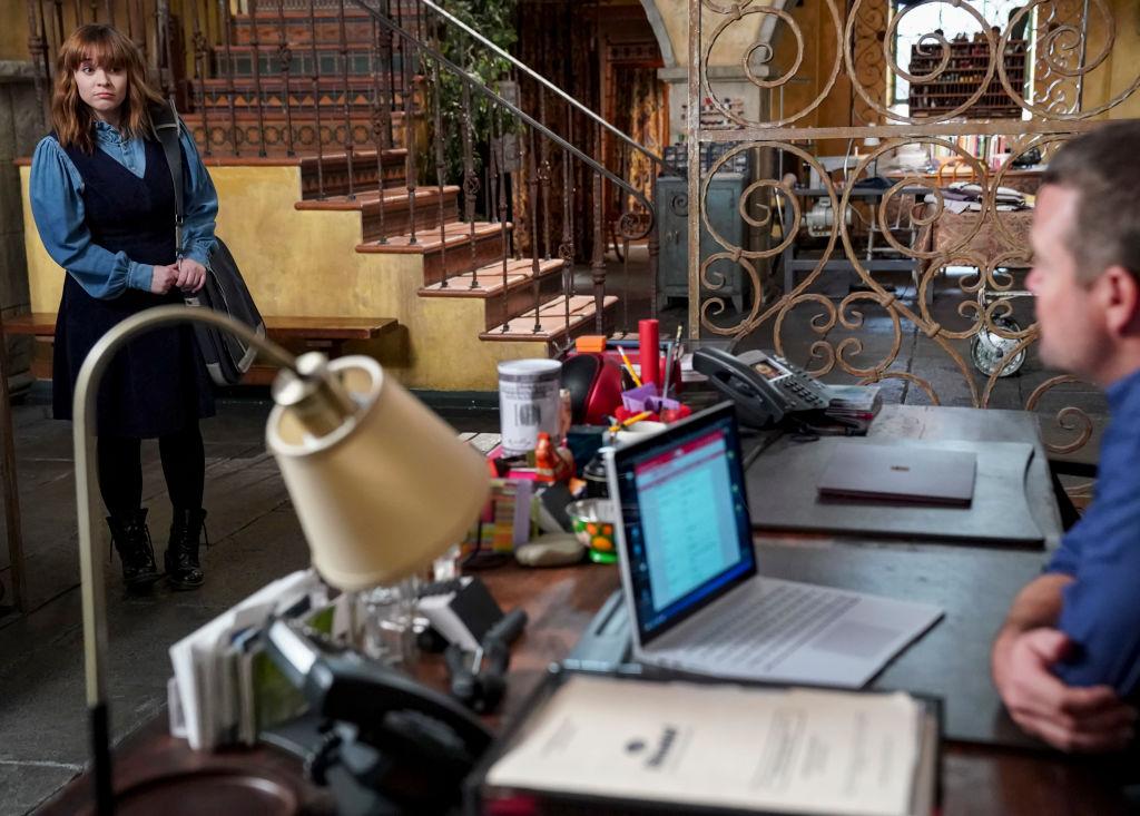 Nell definitely needs a break | by Sonja Flemming/CBS via Getty Images
