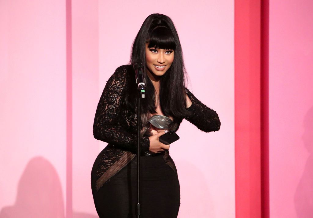 Nicki Minaj at 2019 Billboard Women In Music event