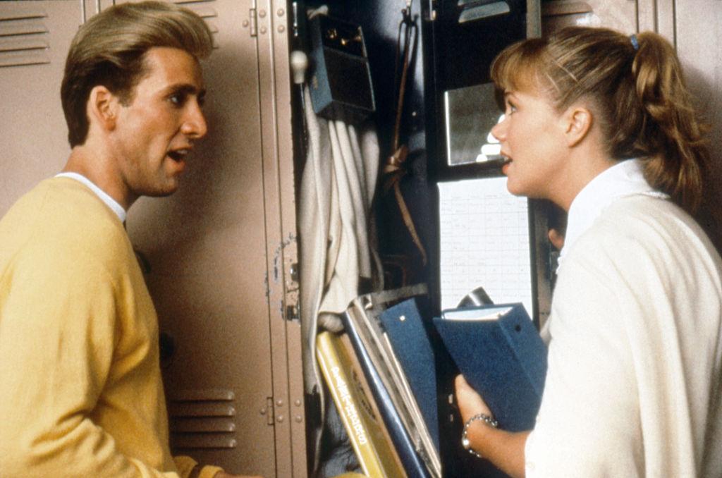 Nicolas Cage and Kathleen Turner