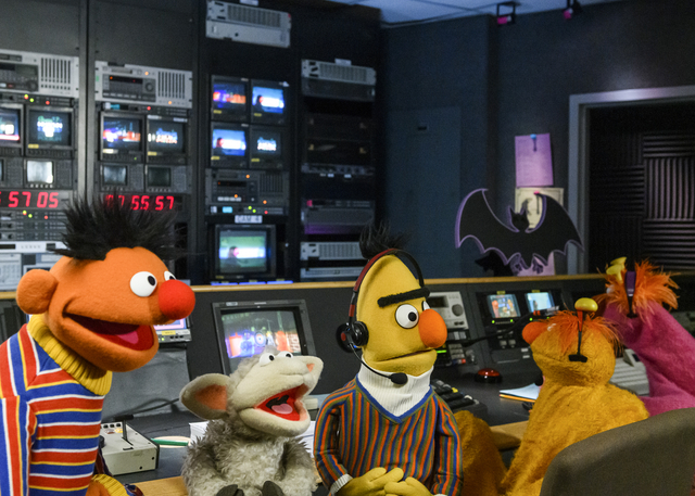 Not Too Late Show with Elmo: Bert and Ernie