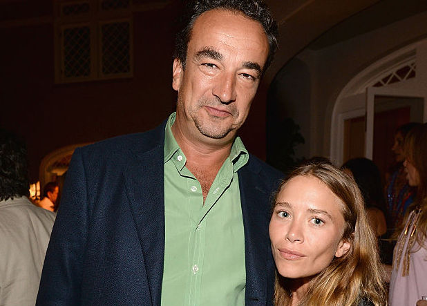Olivier Sarkozy and Mary-Kate Olsen at an event in August 2015