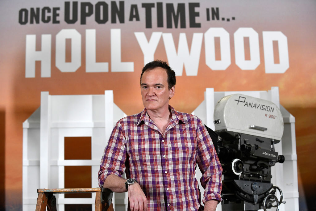 Quentin Tarantino attending a photo call for 'Once Upon a Time in Hollywood'